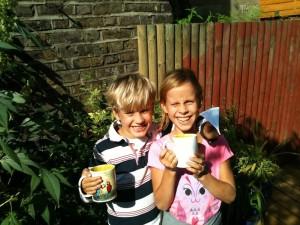 Hampstead UK Whistlebelower Children Alisa & Gabriel