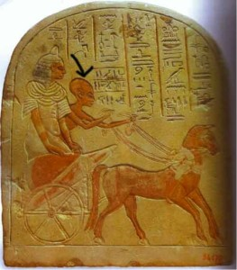 Dr. Edward Spencer: Example of Conehead charioteer (Egypt)