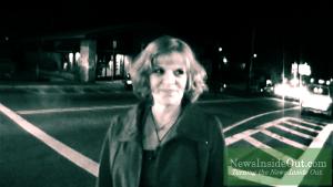 Laurie Kanarowski in Downtown Mariposa, California