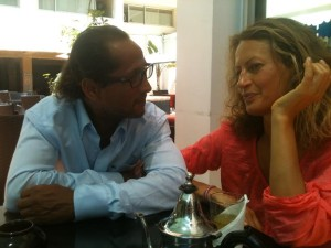 Abraham and Ella. Before the children's disclosure on holiday in Morocco. 04.08.14. [Photo Courtesy Ella Draper]