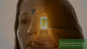 Laurie Morningstar Pyramid Sun Door