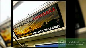 Banned Anti-chemtrails Toronto Subway Ad