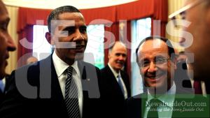 Obama Hollande Je Suis CIA Lie