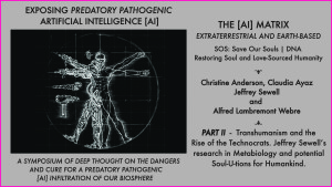 PART II - Symposium exposing off-planet predatory AI Artificial Intelligence