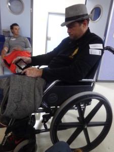 Magnus Olsson In Wheelchair