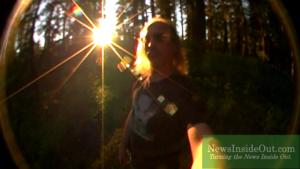 Jon Kelly in Pacific Northwest wilderness.
