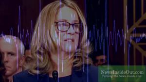 Christine Blasey Ford at Thursday's Senate Judiciary Committee Hearing
